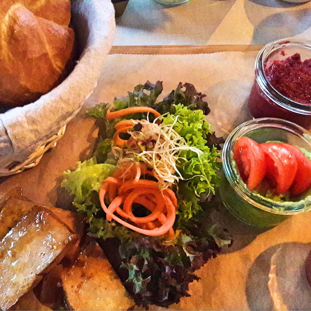 vegan breakfast at hatari the corner