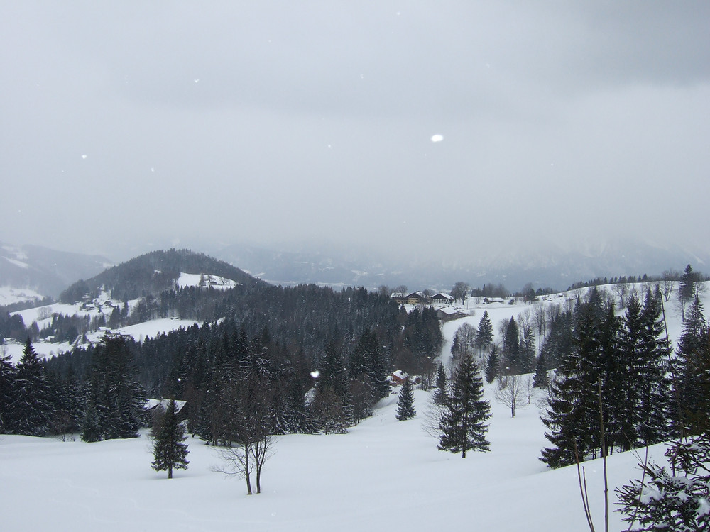 Gaisberg in the snow
