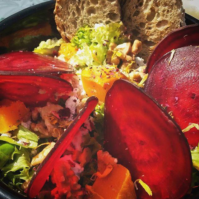 colourful salad, The Hague, Hart Beach
