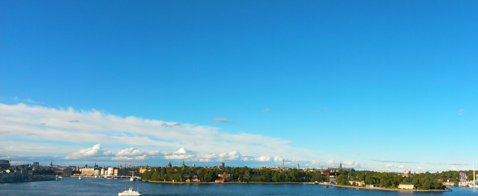 view of stockholm from Södermalm