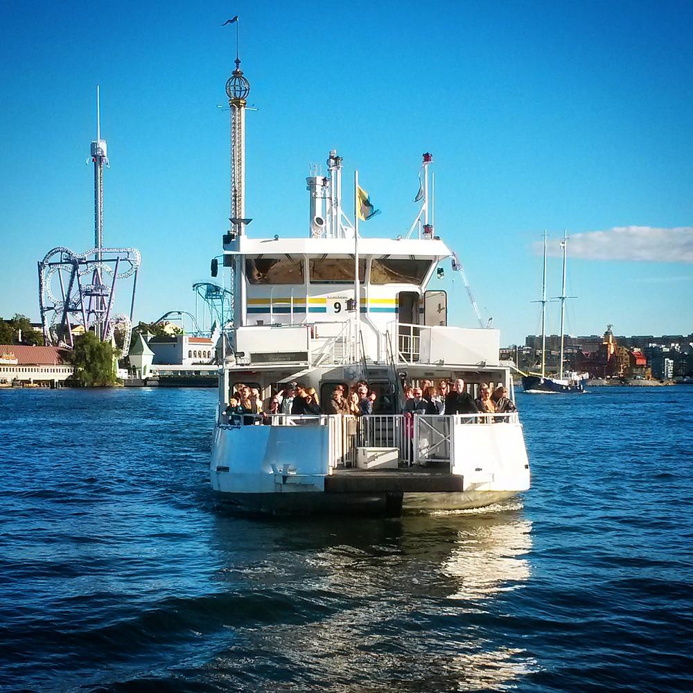 public ferry in stockholm