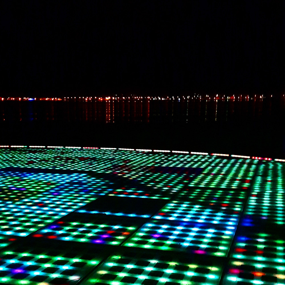 Zadar the greeting to the sun