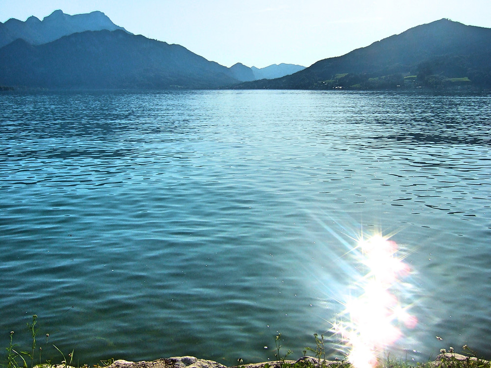lake in the Salzkammergut