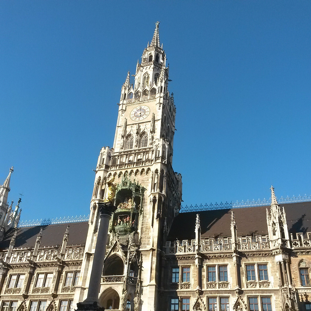 townhall at marienplatz in munich