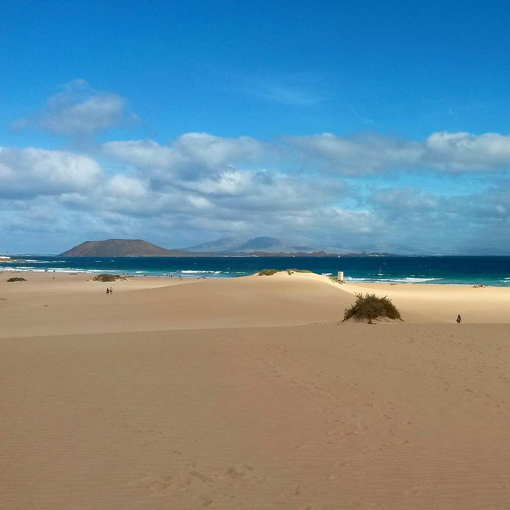 Corralejo sand dunes, Fuertaventura