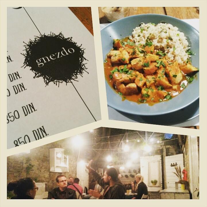 curry at genzdo organic in Belgrade