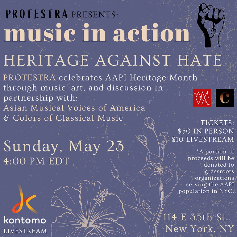 MUSIC IN ACTION: HERITAGE AGAINST HATE