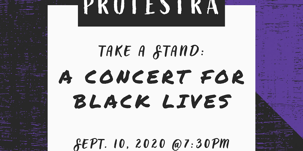 TAKE A STAND: A CONCERT FOR BLACK LIVES