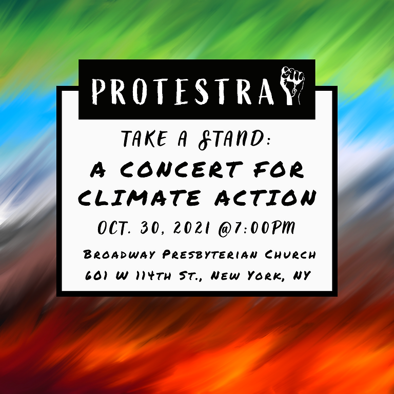 Take a Stand: A Concert for Climate Action