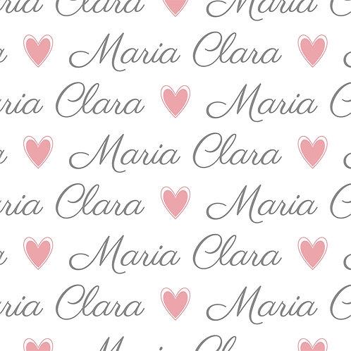 EXPRESS - Naninha Plush com Urso - Maria Clara / Coração