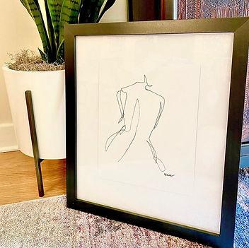 Framed Behind Herself by KB Kessler