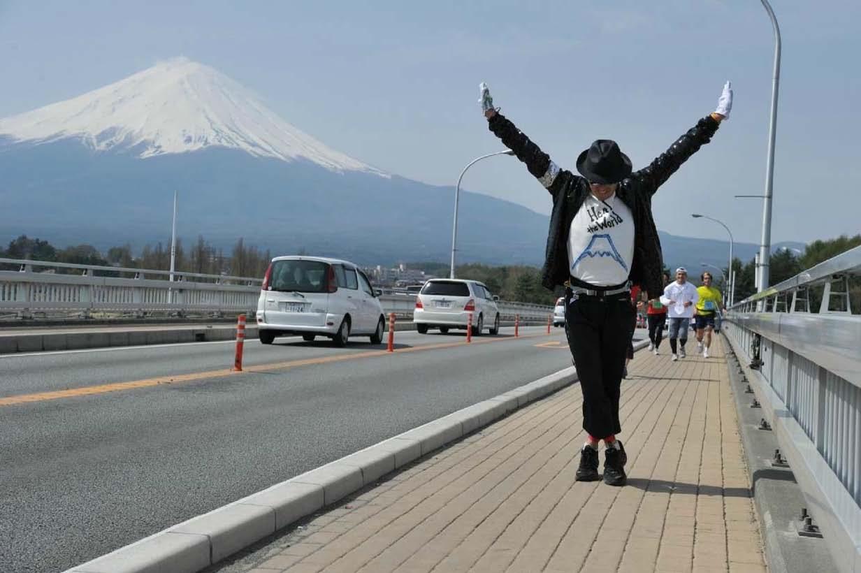 チャレンジ富士五湖から、元気配信!