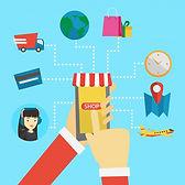 online-shopping-flat-design-illustration