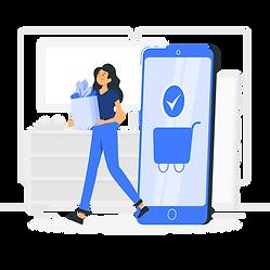 Online Groceries-rafiki.png