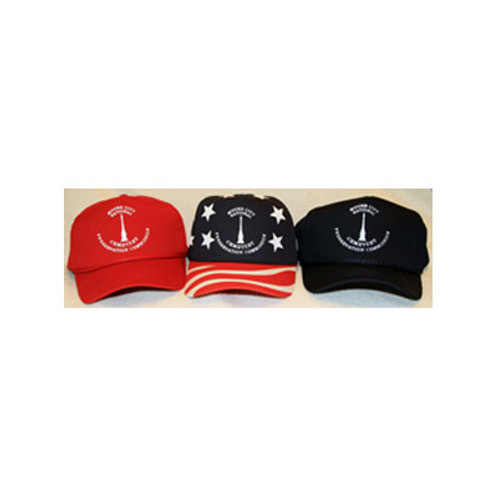 Ball Caps in Red, Blue or Multi-Color