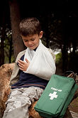 First Aid for a broken arm