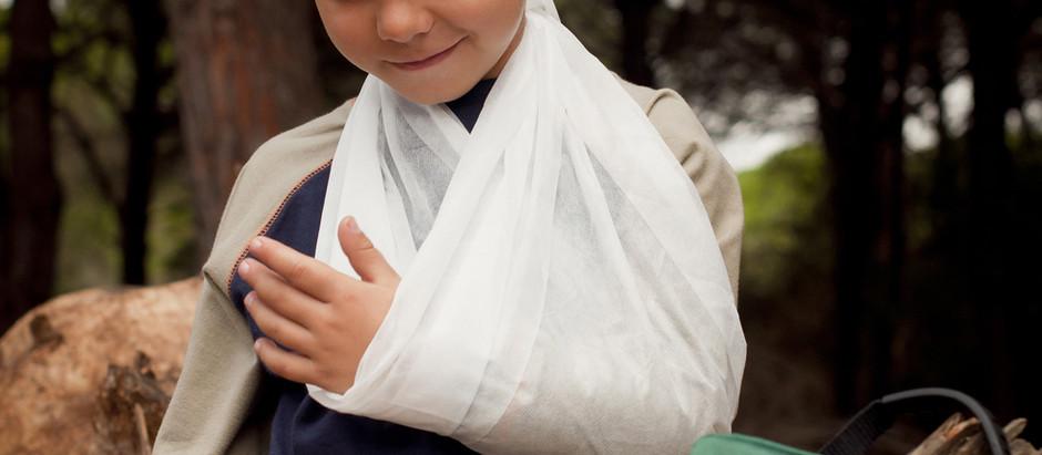 Lesiones por deslizamientos, tropezones y caídas: fracturas, dislocaciones, otras lesiones de impact