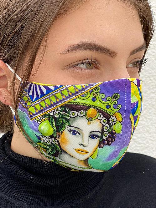 Maske Frida
