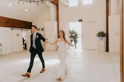 evan and bride