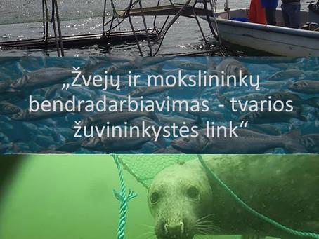 Žvejai ir mokslininkai kviečiami į seminarą apie pontonines gaudykles ir ruonius