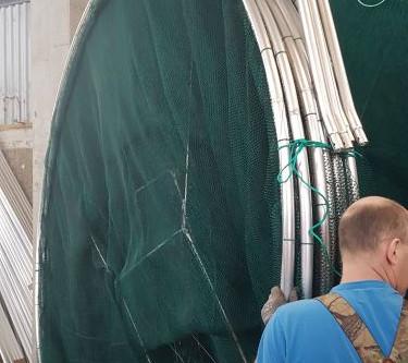 Pontoninės gaudyklės jau keliauja į Lietuvą