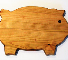 Wild Cherry Pig Cutting Board