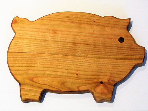 Wild Cherry Pig Cutting Board