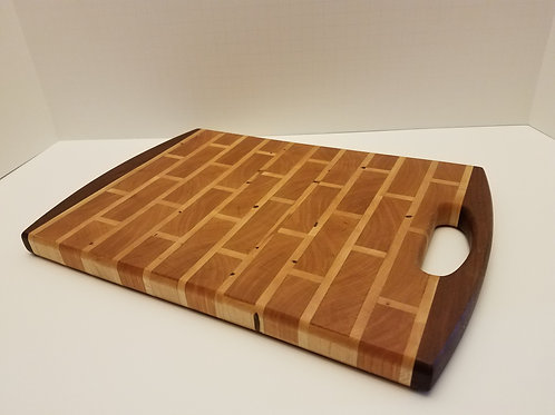 """Brick"" End-Grain Cutting Board"