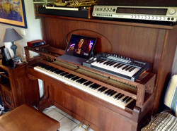 Support piano