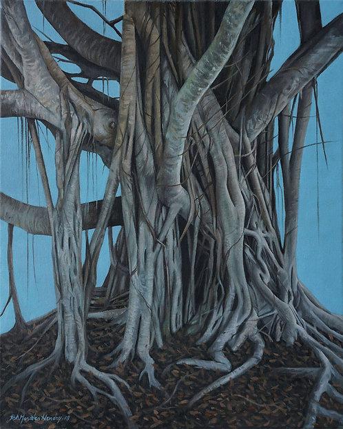 "The Sensual Tree (16x20""), 2018"