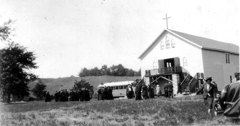 Kateri Shrine Dedication 1938.jpg