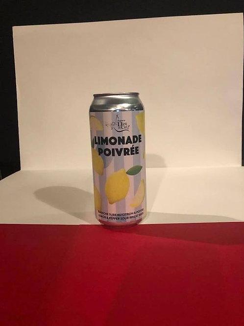Limonade poivreé dieu du ciel Wheat Beer 3.5°