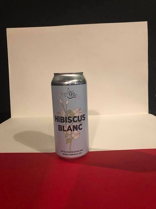 Hibiscus Blanc Dieu du Ciel IPA- International 5°