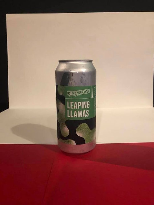 Leaping Liamas neon raptor Sour-Fruited Gose 5.2°