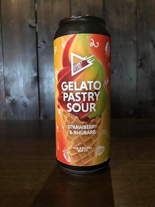 Gelato:Strawberry&Rhuubarb Funky Fluid Sour Fruited 5.8°