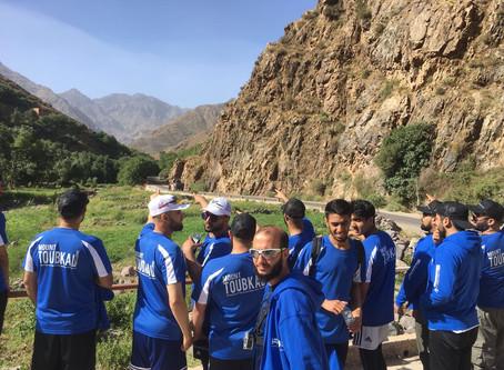 UC3 climbs Mount Toubkal