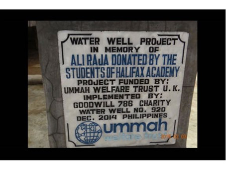 UC3 builds WaterWells
