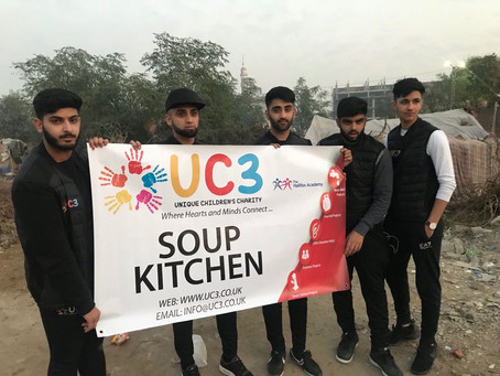 UC3 Launches a Soup Kitchen