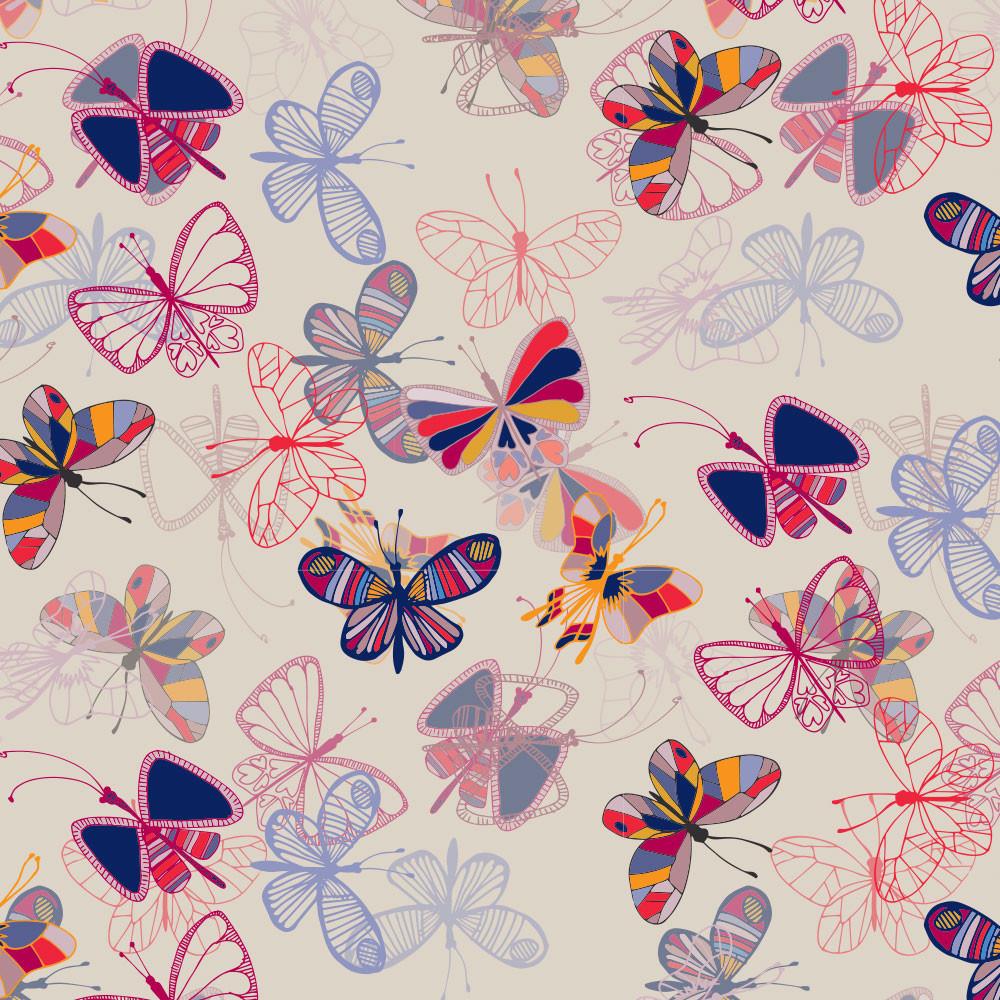 Multicoloured Moths