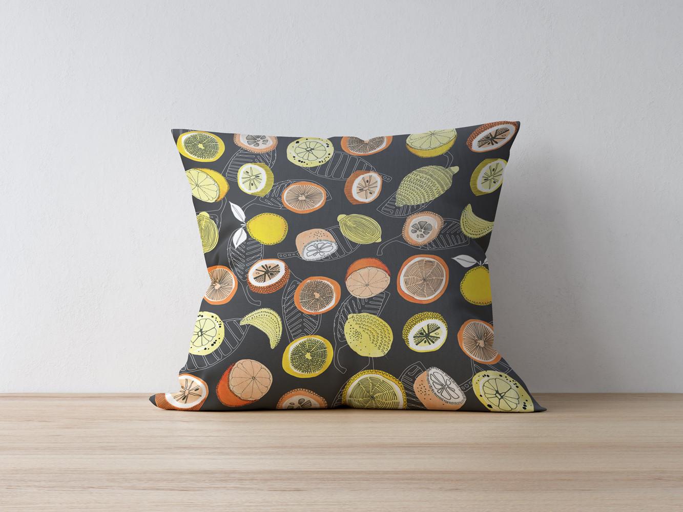Citrus Grove cushion
