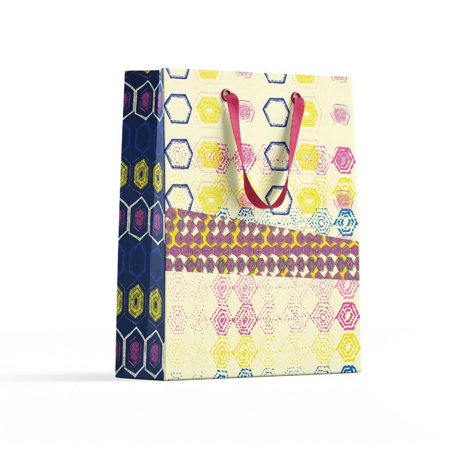 Mix + Mingle Yellow giftbag