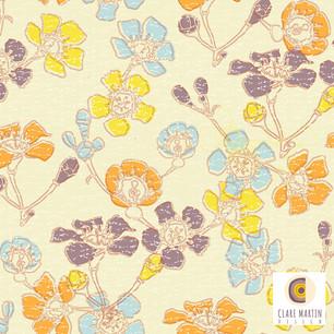 Geraldton Wax Spoonflower