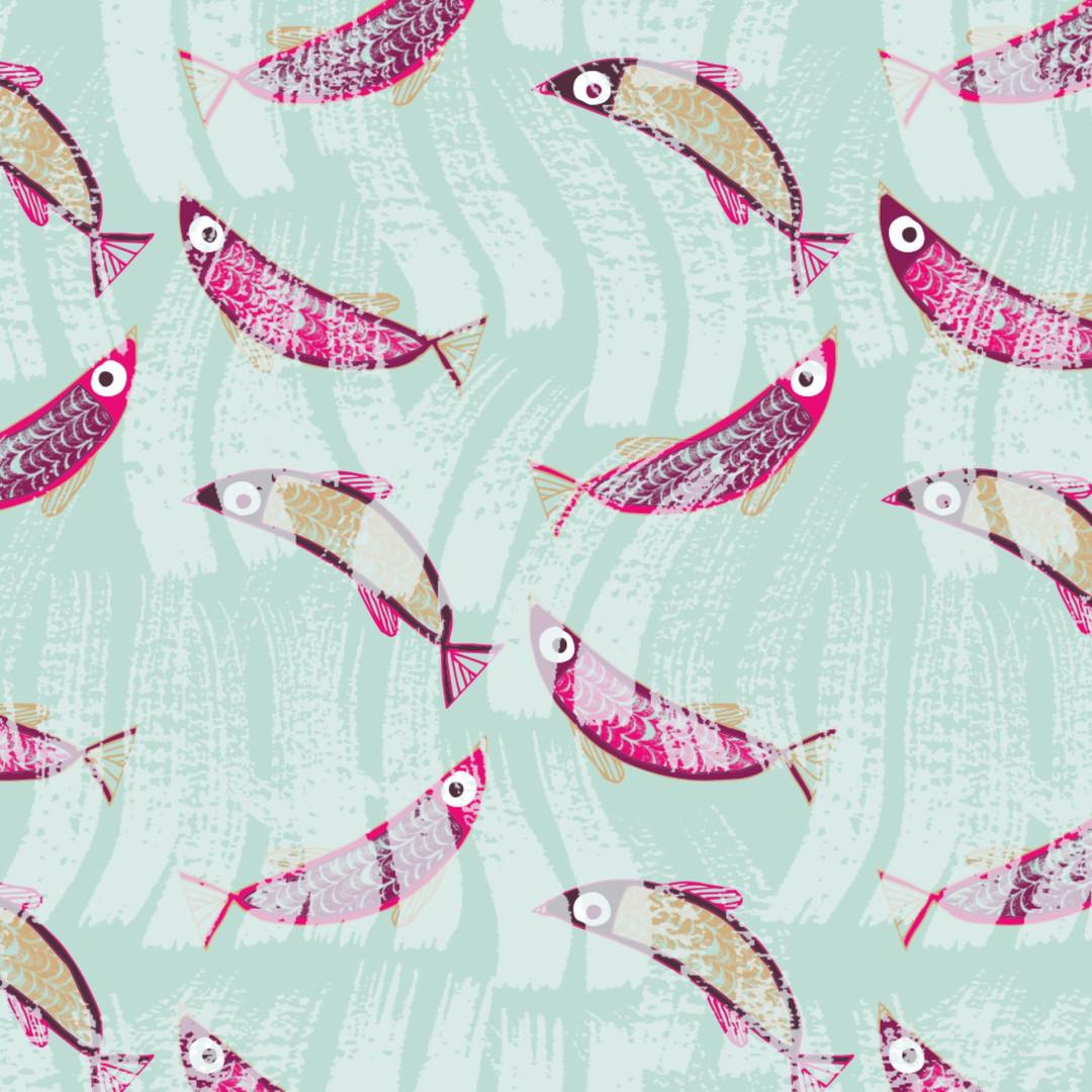 Flippin' Fish Aqua
