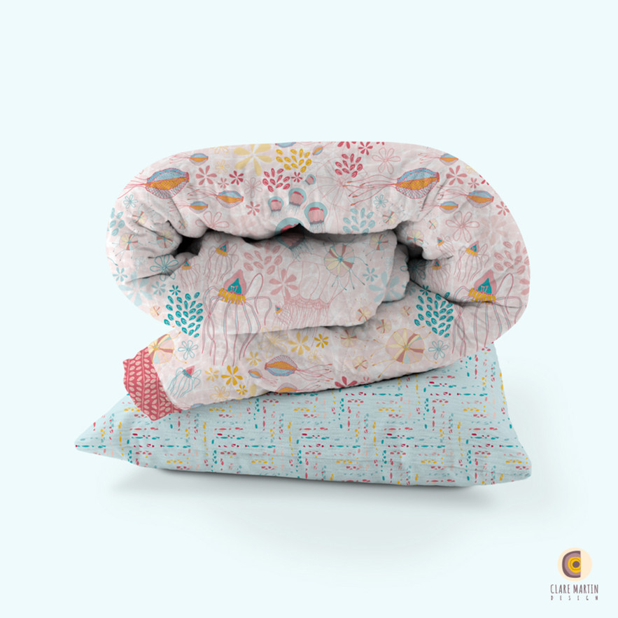 The Gathering quilt + Sand Lines cushion