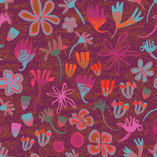 Field of Flowers Plum