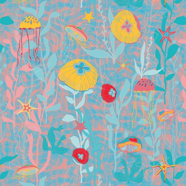 Jellyfish Garden Bright