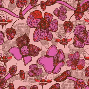 Medieval Floral Blush