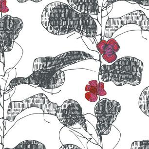 Medieval Floral Sketchy