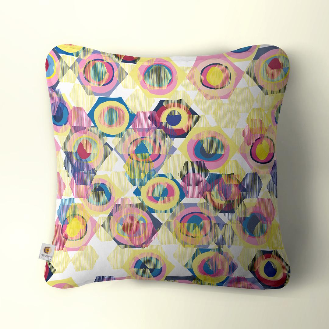 Hex Eye cushion
