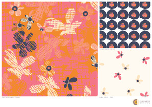 Cross-Hatch-Flowers-collection